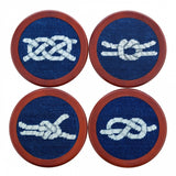 Sold Out - Smathers & Branson Nautical Knots Coaster Set