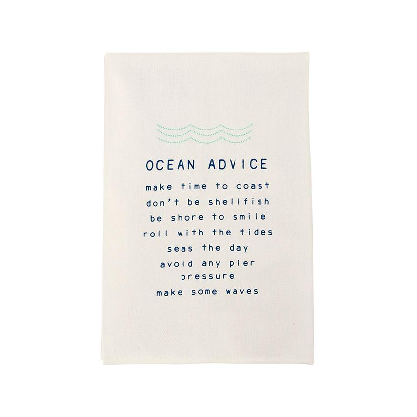 Ocean Advice Bar Towel