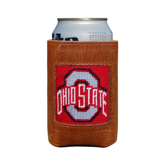 Smathers & Branson Ohio State Needlepoint Can Cooler