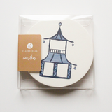 Sold Out - Pagoda Coaster Set