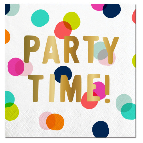 Party Time Cocktail Napkins