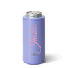 Personalized Skinny Can Cooler - Matte Hydrangea