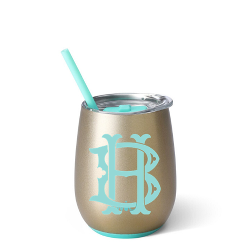 Personalized Tumbler - Champagne