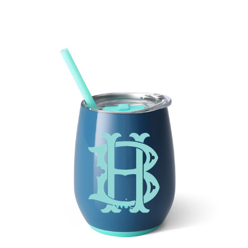 Personalized Tumbler - Denim