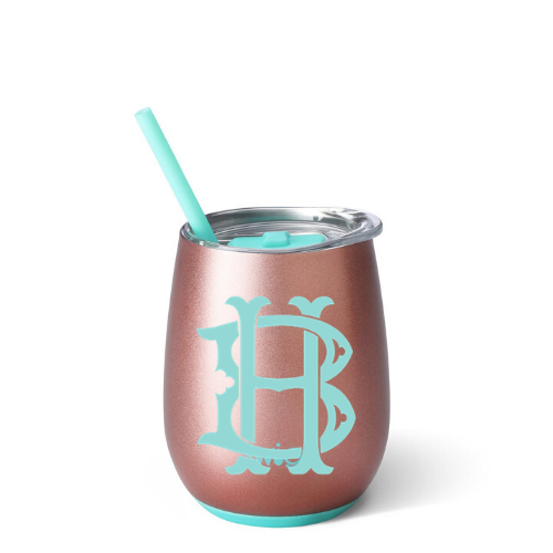 Personalized Tumbler - Rose Gold