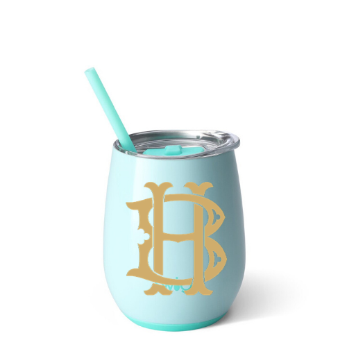Personalized Tumbler - Seaglass