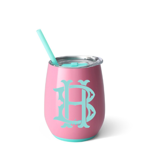 Personalized Tumbler - Peony