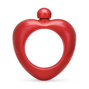 Red Heart Bangle Flask