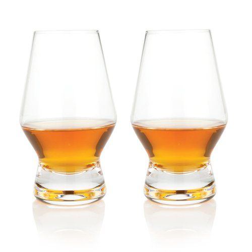 Viski® Crystal Scotch Glasses