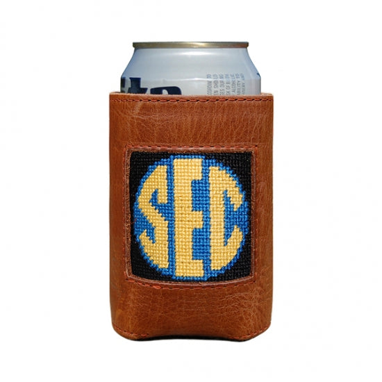 Smathers & Branson SEC Needlepoint Can Cooler