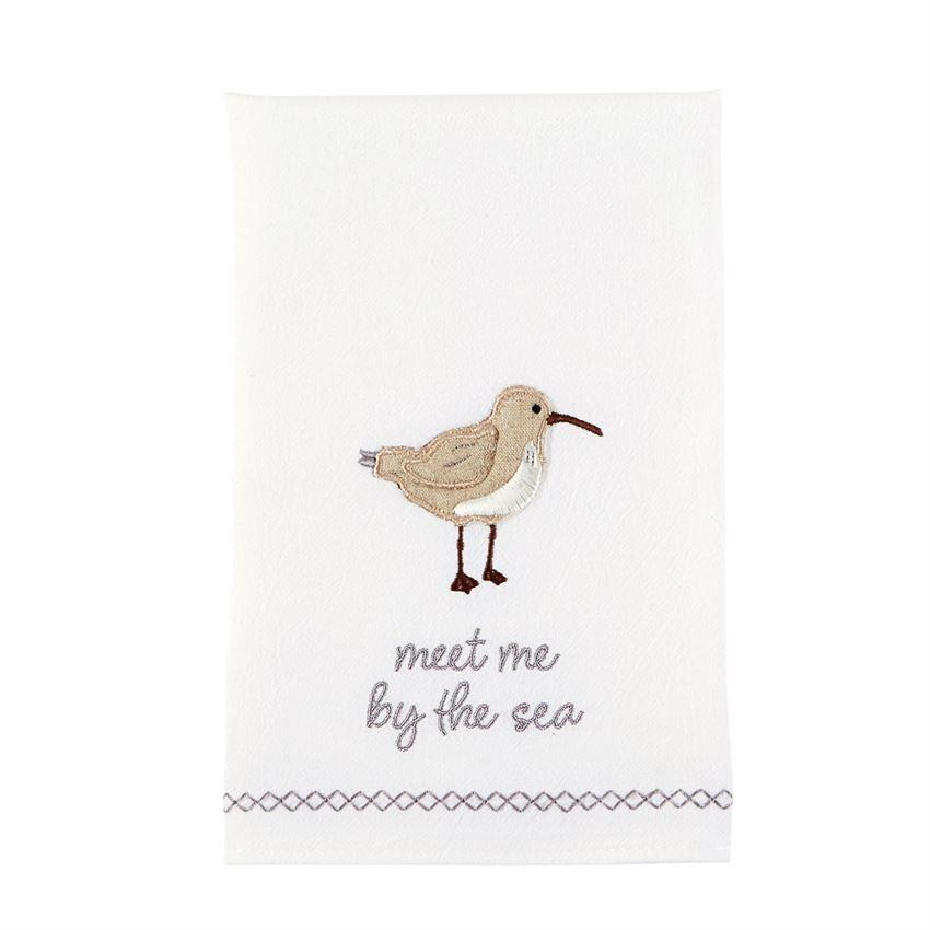 Meet Me Shore Bird Bar Towel
