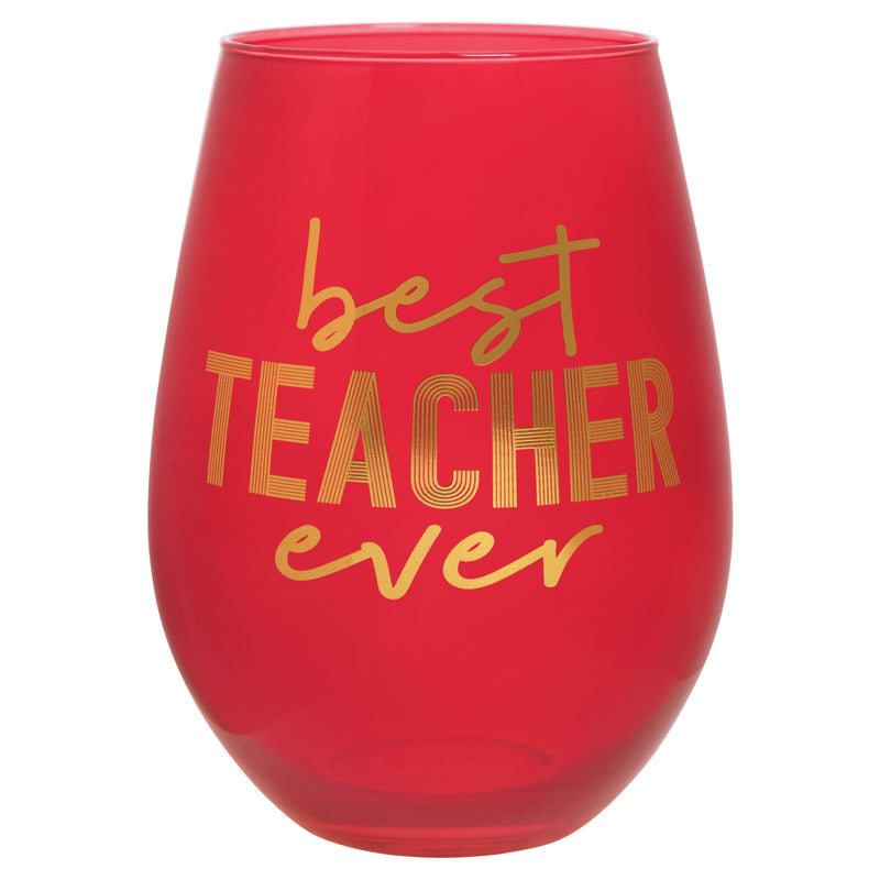 Best Teacher Ever Think Big Drinkware