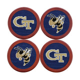 Smathers & Branson Georgia Tech Coaster Set