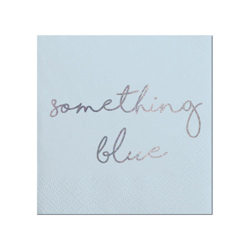 Something Blue Beverage Napkins