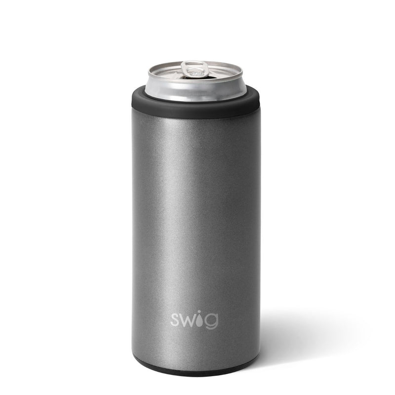 Skinny Can Cooler - Graphite