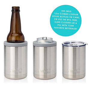 Swig Combo Cooler - Pearl