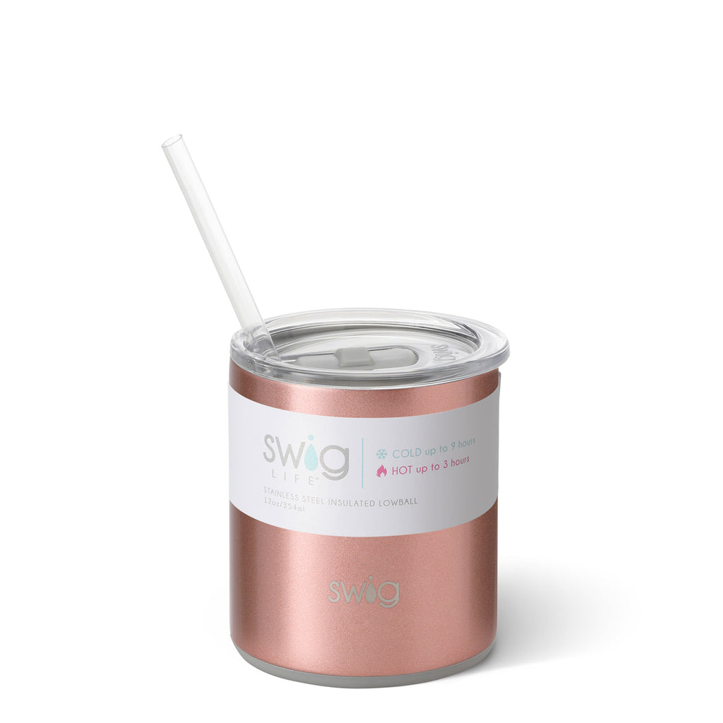 Swig Low Ball - Rose Gold