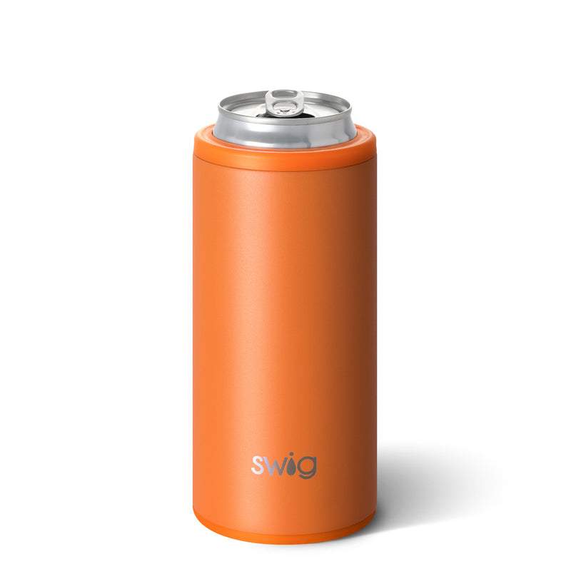 Skinny Can Cooler - Matte Orange