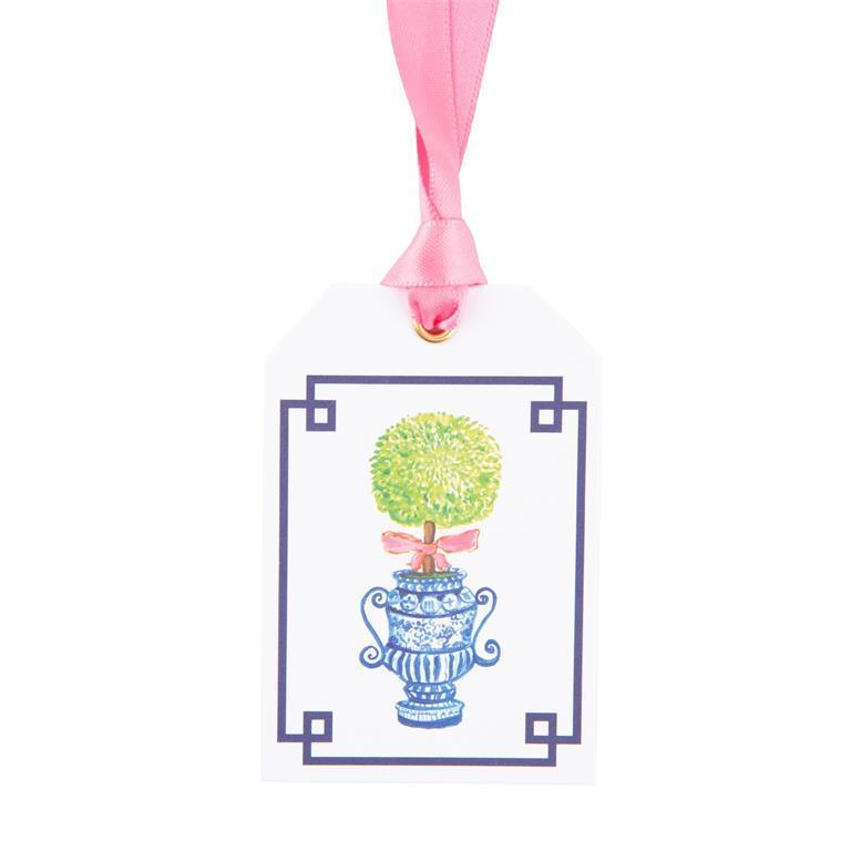 Topiary Bottle Tags