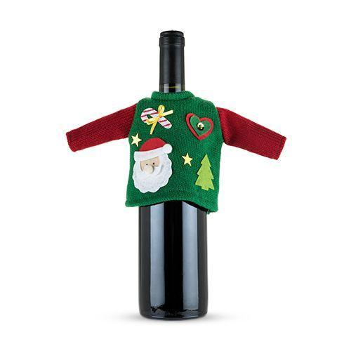 Ugly Christmas Sweater Bottle Outfit