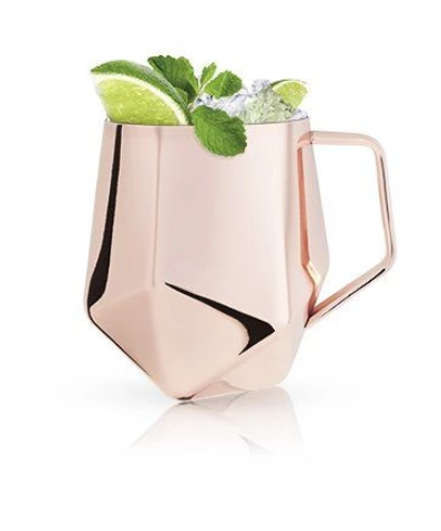 Faceted Moscow Mule Mug
