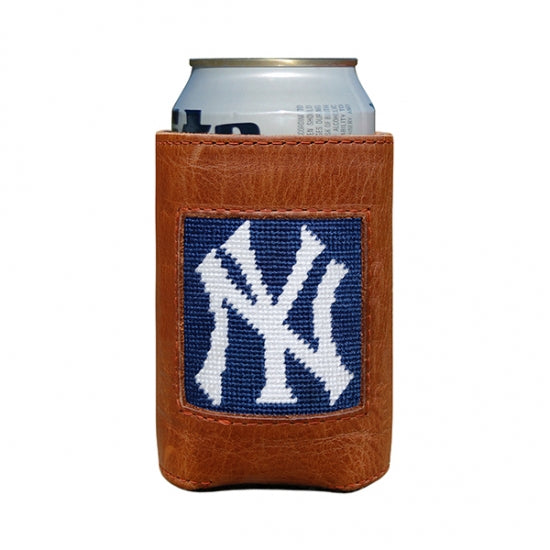Smathers & Branson New York Yankees Needlepoint Can Cooler
