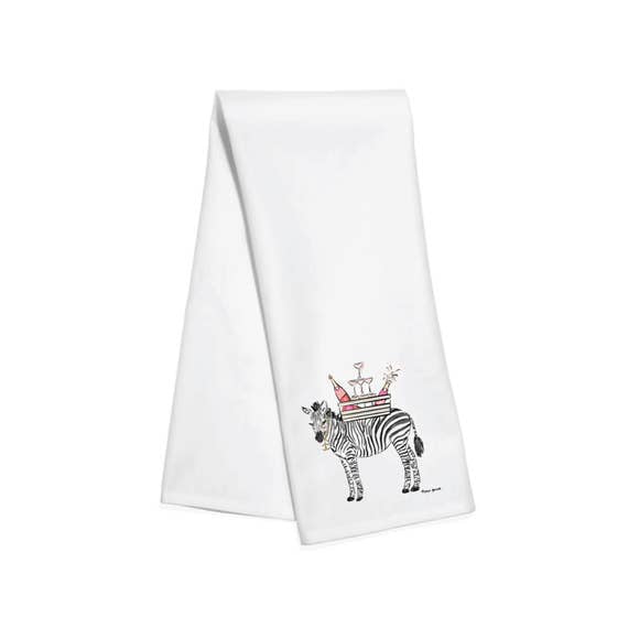 Zebra Bar Towel
