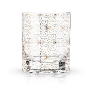 Zenith Deco Rocks Glass