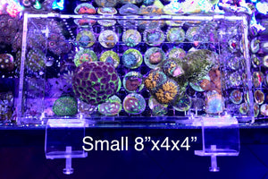 Aquarium Multi-functional Detachable Isolation Boxes Shroom Box Breeding Box Quarantine Box.