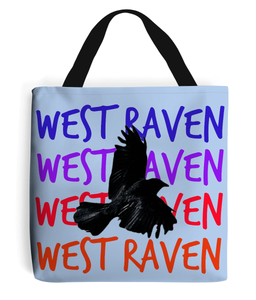 West Raven x4 tote bag - With raven - West Raven clothing