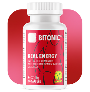 B!Tonic Real Energy Complesso vitaminico e multiminerale