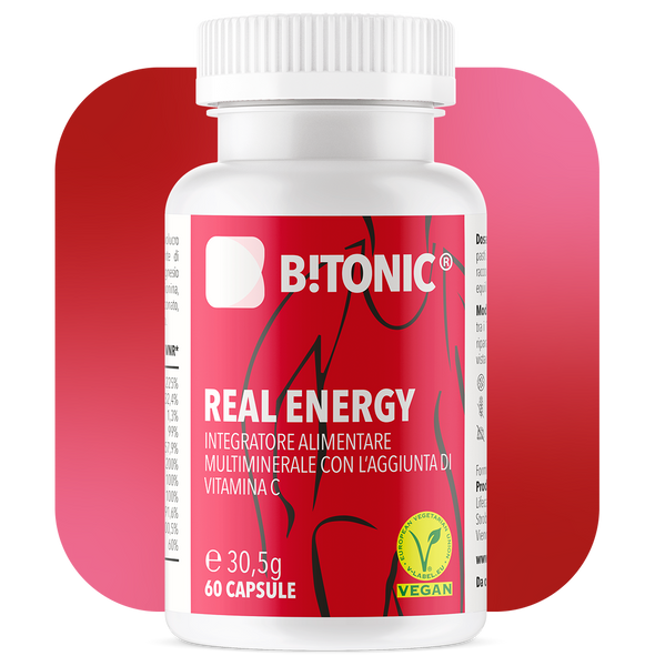 B!TONIC® Real Energy - Complesso vitaminico e multiminerale