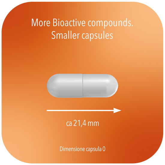 Btonic Orange Immune dimensione capsule