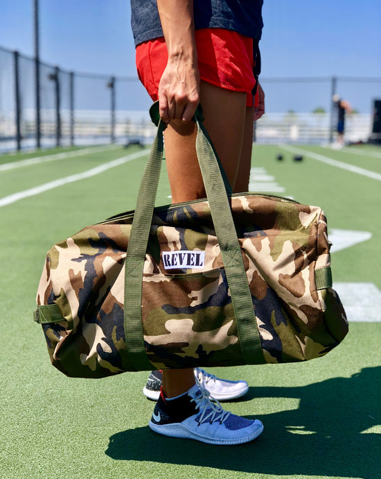 Revel in Camo Duffel