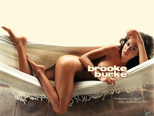 Brooke Burke in hammock