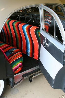 Mexican Blanket For Your Car Hot Rod Or Classic Vehicle Hammocks Australia