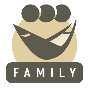 family fabric hammock icon