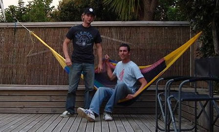 Guy and Mike - Hammocks Australia
