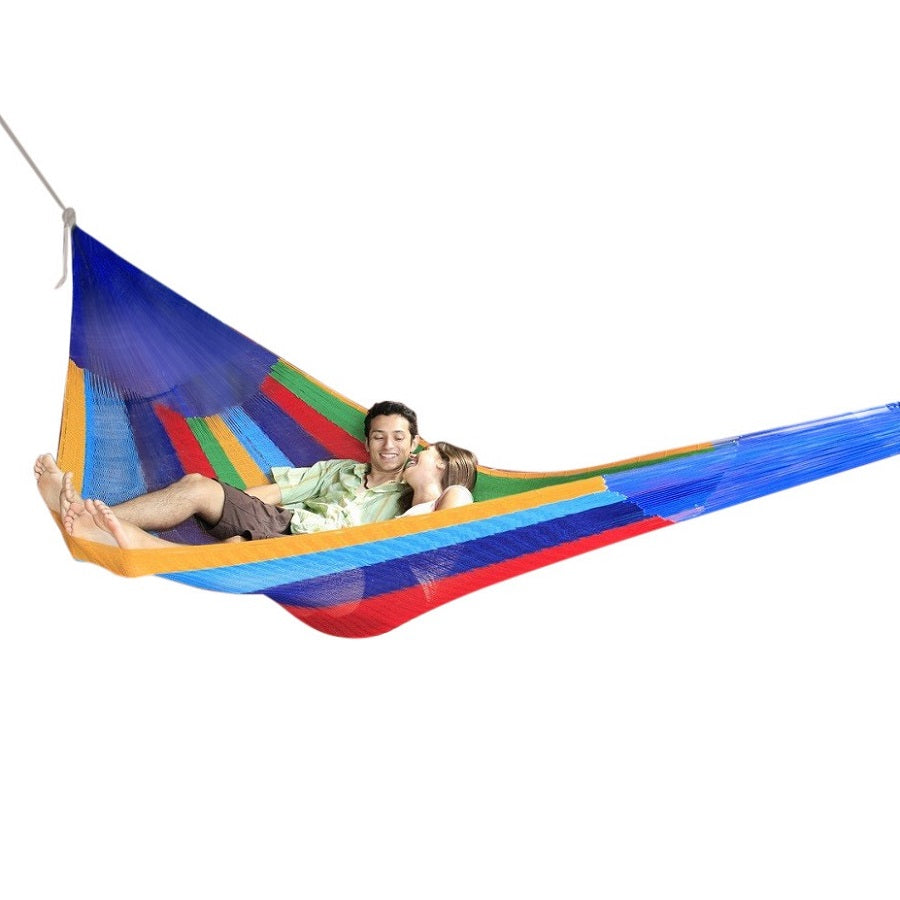 Mexican hammock - rainbow colours