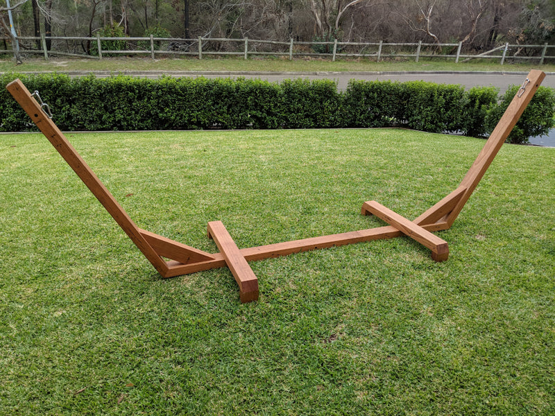 Freestanding Wood Hammock Stand