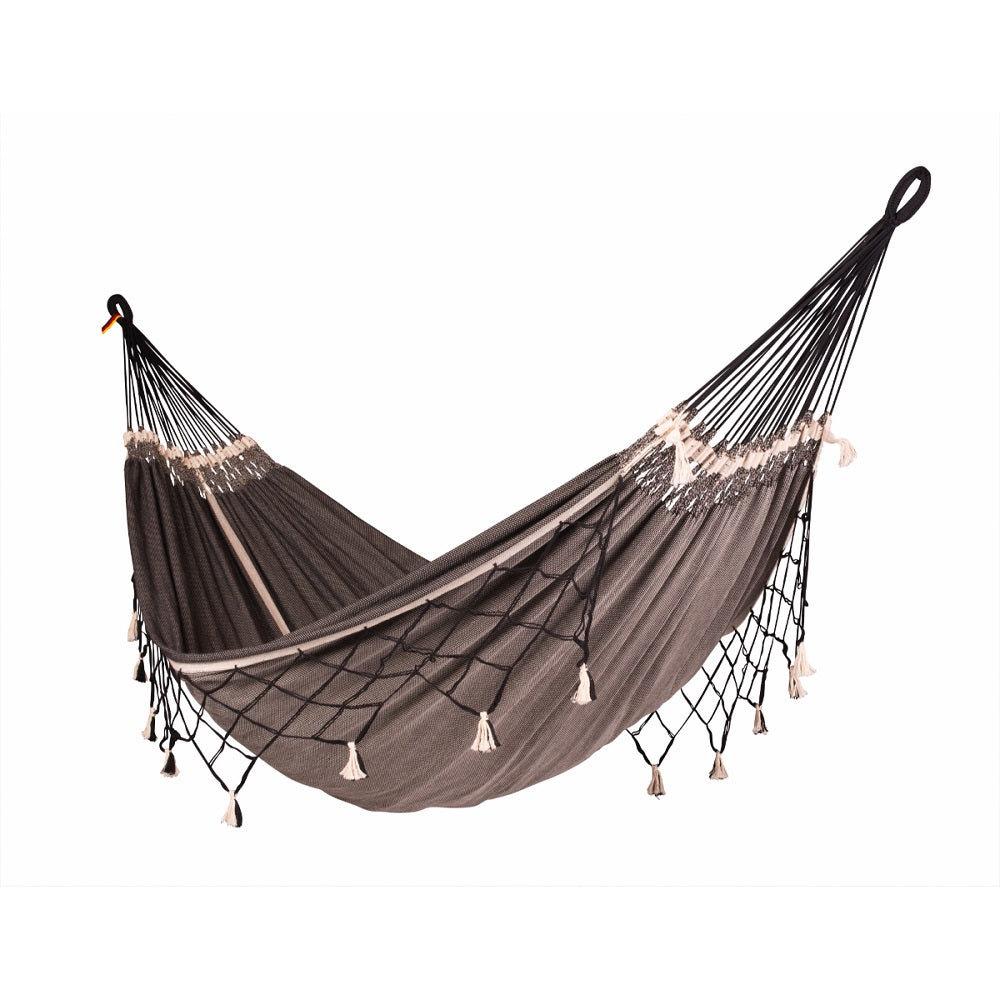 Black cotton double hammock