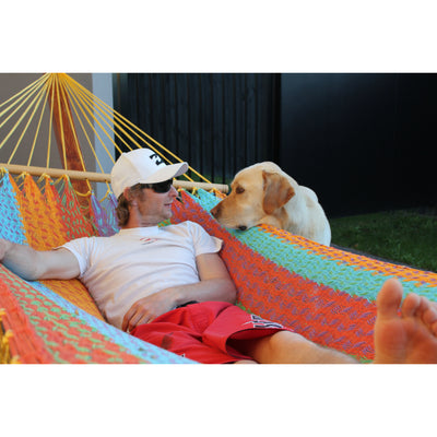 Cotton bar hammock