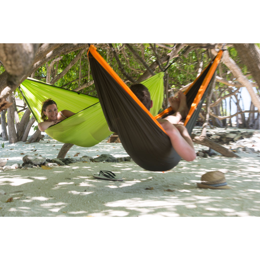 Double size camping hammock