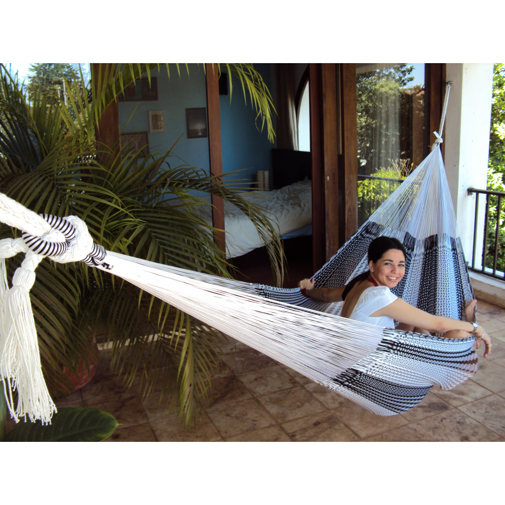 Hammock white and black