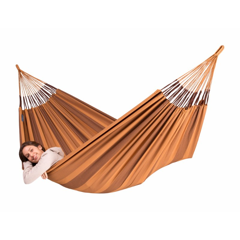 Gold and brown hammock
