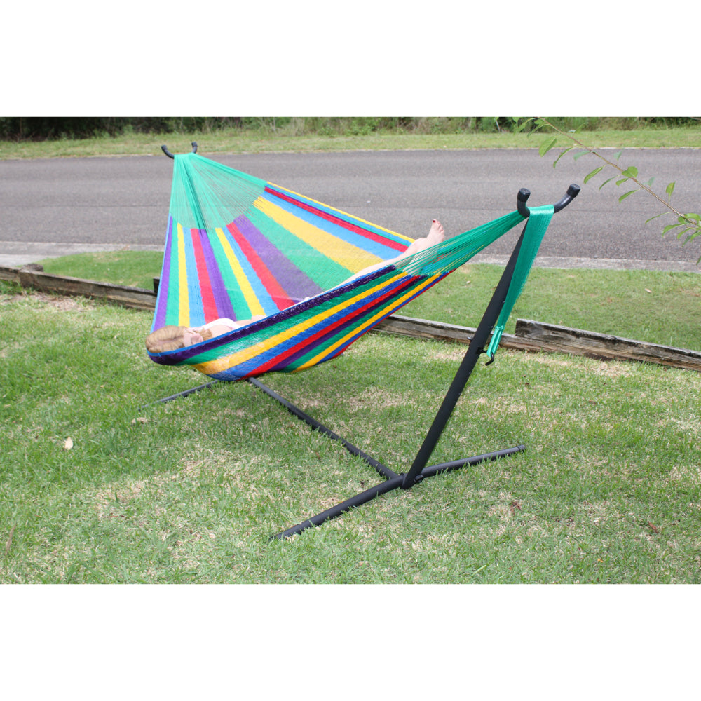 Hammock stand and Mexican hammock