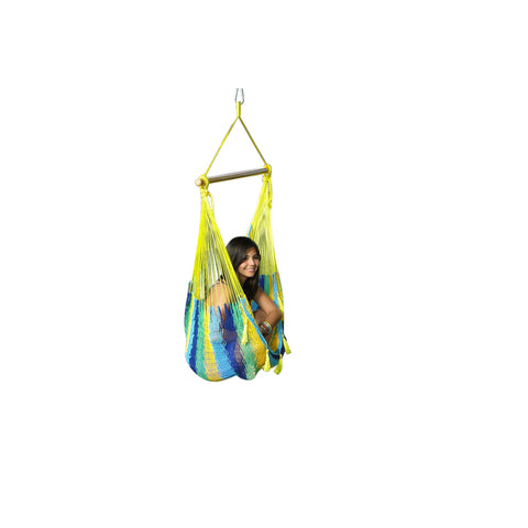 Chair Hammock - Single Weatherproof - Lime