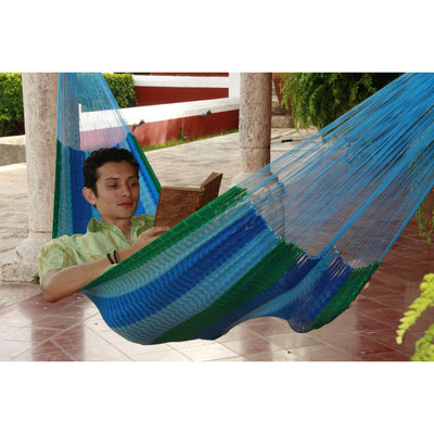 Double Mexican hammock for one person