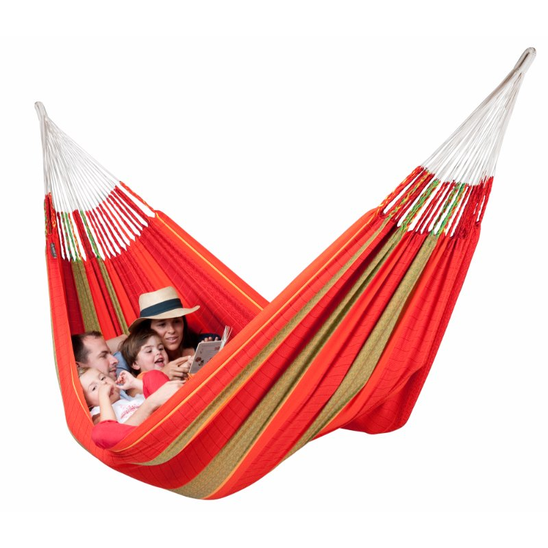 Organic cotton red hammock Australia