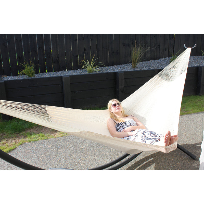 White Cotton Hammock - Mexican Made